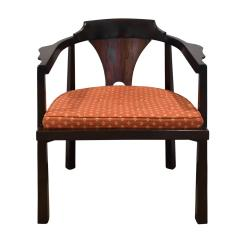 Edward Wormley Edward Wormley Set of 4 Dining Game Chairs in Walnut and Rosewood 1963 Signed  - 1675276