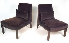 Edward Wormley Edward Wormley Slipper Chairs for Dunbar - 212835