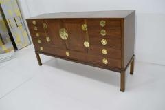 Edward Wormley Edward Wormley for Dunbar Cabinet with Brass Hardware 1950s - 1467117