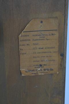 Edward Wormley Edward Wormley for Dunbar Cabinet with Brass Hardware 1950s - 1467118