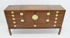 Edward Wormley Edward Wormley for Dunbar Cabinet with Brass Hardware 1950s - 1467119