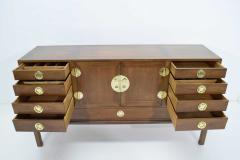 Edward Wormley Edward Wormley for Dunbar Cabinet with Brass Hardware 1950s - 1467123