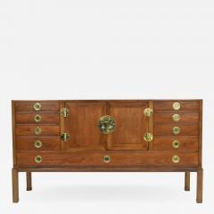 Edward Wormley Edward Wormley for Dunbar Cabinet with Brass Hardware 1950s - 1467441