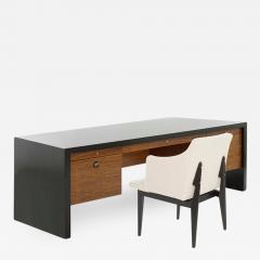 Edward Wormley Edward Wormley for Dunbar Executive Desk and Chair Set C 1950s - 1595054