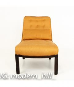 Edward Wormley Edward Wormley for Dunbar Mid Century Slipper Lounge Chairs Pair - 1850984