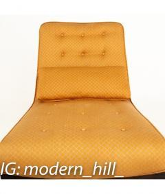 Edward Wormley Edward Wormley for Dunbar Mid Century Slipper Lounge Chairs Pair - 1850994