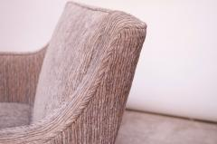 Edward Wormley Edward Wormley for Dunbar Revolving Lounge Chair in Mahogany - 1114004