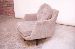 Edward Wormley Edward Wormley for Dunbar Revolving Lounge Chair in Mahogany - 1114009
