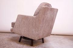 Edward Wormley Edward Wormley for Dunbar Revolving Lounge Chair in Mahogany - 1114010