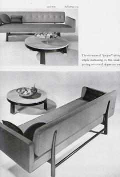 Edward Wormley Edward Wormley for Dunbar Sofa Model 5316 Reupholstered circa 1950 - 1247961