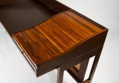 Edward Wormley Edward Wormley for Dunbar Solid Brazilian Rosewood Tambour Desk Model 912C - 1148534