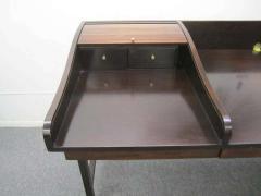 Edward Wormley Excellent Rosewood Roll Top Desk by Edward Wormley for Dunbar Mid Century Modern - 1252468