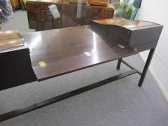 Edward Wormley Excellent Rosewood Roll Top Desk by Edward Wormley for Dunbar Mid Century Modern - 1252472