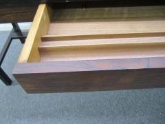 Edward Wormley Excellent Rosewood Roll Top Desk by Edward Wormley for Dunbar Mid Century Modern - 1252474