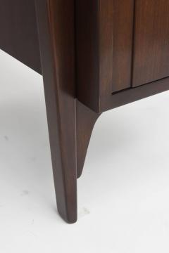 Edward Wormley Fine and Unusual American Modern Dark Walnut Desk Edward Wormley - 60971