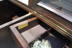 Edward Wormley High Walnut Olive Burl Cabinet by Edward Wormley for Dunbar - 112988