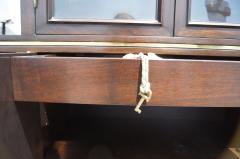 Edward Wormley High Walnut Olive Burl Cabinet by Edward Wormley for Dunbar - 112991