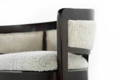 Edward Wormley Pair of Armchairs in Wool Boucl by Edward Wormley - 1583345