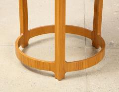 Edward Wormley Pair of Circular Side Tables by Edward Wormley for Dunbar - 2099223