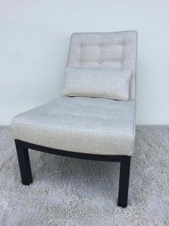 Edward Wormley Pair of Dunbar Edward Wormley Slipper Chairs - 1781610