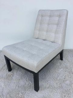 Edward Wormley Pair of Dunbar Edward Wormley Slipper Chairs - 1781611