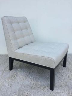 Edward Wormley Pair of Dunbar Edward Wormley Slipper Chairs - 1781613