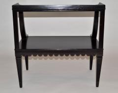 Edward Wormley Pair of Ebony Side End Occasional Tables by Dunbar Wormley Midcentury 2275 - 672885