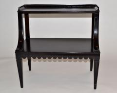 Edward Wormley Pair of Ebony Side End Occasional Tables by Dunbar Wormley Midcentury 2275 - 672887