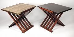 Edward Wormley Pair of Edward Wormley Savonarola Occasional Tables for Dunbar Model 5425 - 1051086
