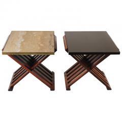 Edward Wormley Pair of Edward Wormley Savonarola Occasional Tables for Dunbar Model 5425 - 1051087