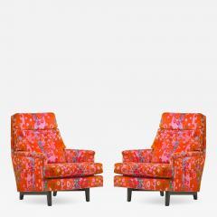 Edward Wormley Pair of Edward Wormley for Dunbar Lounge Chair - 1121430