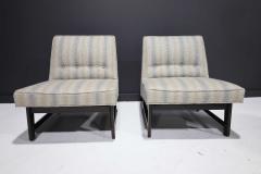 Edward Wormley Pair of Edward Wormley for Dunbar Slipper Chairs - 2055704