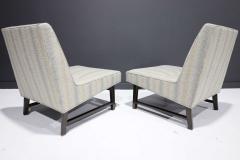 Edward Wormley Pair of Edward Wormley for Dunbar Slipper Chairs - 2055705