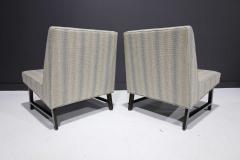 Edward Wormley Pair of Edward Wormley for Dunbar Slipper Chairs - 2055706