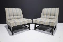 Edward Wormley Pair of Edward Wormley for Dunbar Slipper Chairs - 2055707