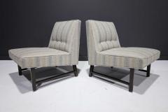 Edward Wormley Pair of Edward Wormley for Dunbar Slipper Chairs - 2055711