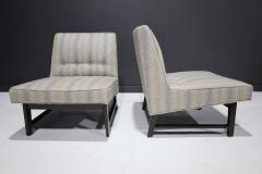 Edward Wormley Pair of Edward Wormley for Dunbar Slipper Chairs - 2055712