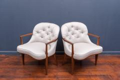 Edward Wormley Pair of Janus Lounge Chairs by Edward Wormley for Dunbar - 365538