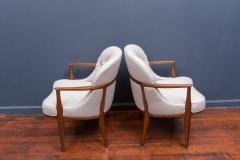 Edward Wormley Pair of Janus Lounge Chairs by Edward Wormley for Dunbar - 365540