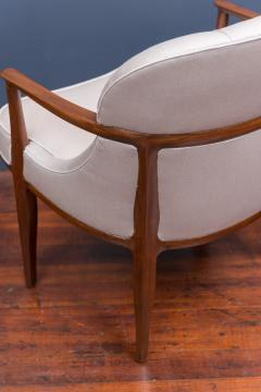 Edward Wormley Pair of Janus Lounge Chairs by Edward Wormley for Dunbar - 365543