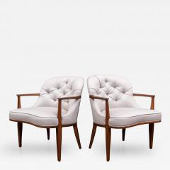 Edward Wormley Pair of Janus Lounge Chairs by Edward Wormley for Dunbar - 367251