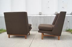 Edward Wormley Pair of Low Lounge Chairs by Edward Wormley for Dunbar - 147840