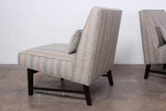 Edward Wormley Pair of Slipper Chairs by Edward Wormley for Dunbar - 1018179