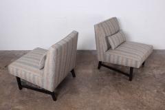 Edward Wormley Pair of Slipper Chairs by Edward Wormley for Dunbar - 1018182