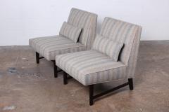 Edward Wormley Pair of Slipper Chairs by Edward Wormley for Dunbar - 1018183