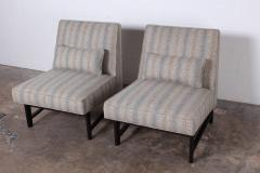 Edward Wormley Pair of Slipper Chairs by Edward Wormley for Dunbar - 1018188