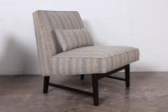 Edward Wormley Pair of Slipper Chairs by Edward Wormley for Dunbar - 1018190