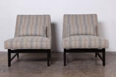 Edward Wormley Pair of Slipper Chairs by Edward Wormley for Dunbar - 1018193