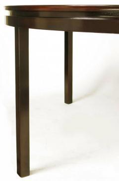 Edward Wormley Rare Edward Wormley Custom Mahogany and Natural Rosewood Oval Dining Table - 279398