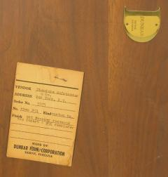 Edward Wormley Rare Edward Wormley Custom Mahogany and Natural Rosewood Oval Dining Table - 279399